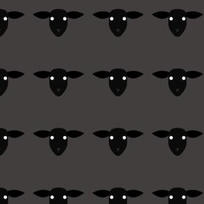 Sheep Pattern Warm Grey 4