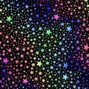 Spectrum Stars - black