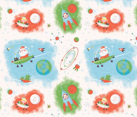 Xmas Around the World fabric by edward_elementary on Spoonflower - custom fabric