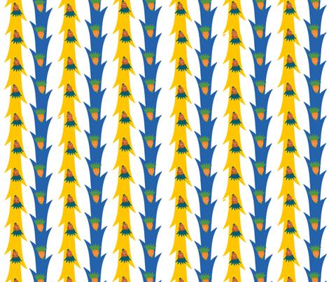 Swedish Garland flowers fabric by twilfley on Spoonflower - custom fabric