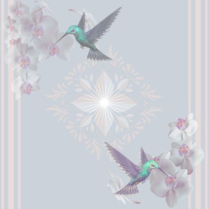 Orchids and Hummingbirds