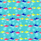 Baby Shark Set | Shark Family Pattern Print