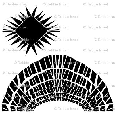 Black and white geometric 11 10 2018