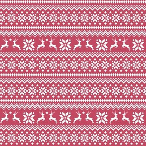 Nordic Winter Classic Red Scandinavian Deer