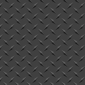 Dark Diamond plate metal - smaller repeat