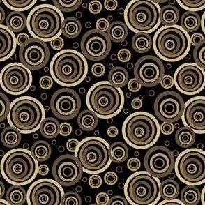 Natural Circles in Black