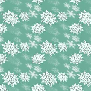 Minty Snow