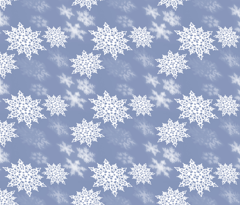 Winter Wonderland fabric by sewingscientist on Spoonflower - custom fabric
