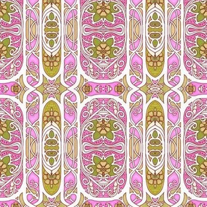 Twisted Pink Edwardian Stripe