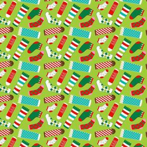 Holiday Socks Galore