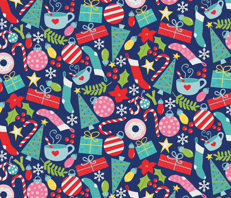 Christmas Morning fabric by jenniferlabre on Spoonflower - custom fabric