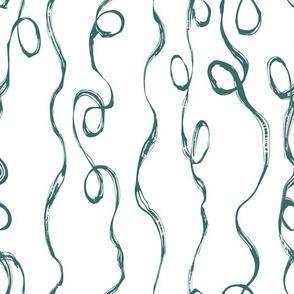 scribble vines