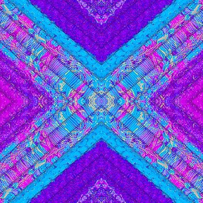 Fabric Simulation blue