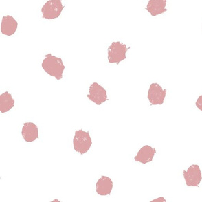 blush dots ditsy