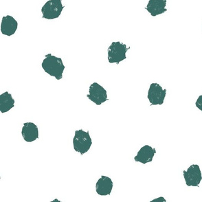 ocean dots ditsy