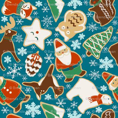 North Pole Sugar Cookies