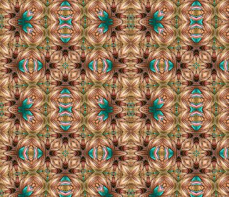 Roving Pattern2-rust fabric by koalalady on Spoonflower - custom fabric