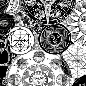 Alchemical Astrology BW