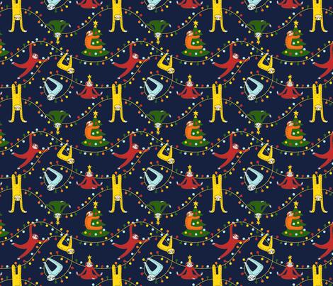 New Year fabric by ewdondoxja on Spoonflower - custom fabric