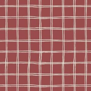 tartan pattern on cherry
