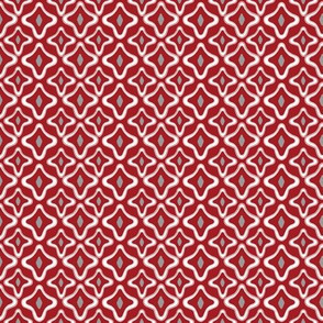 Argyle Ogee Red