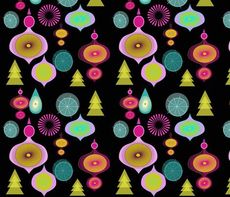 Joy Everywhere  fabric by mirimo_design on Spoonflower - custom fabric