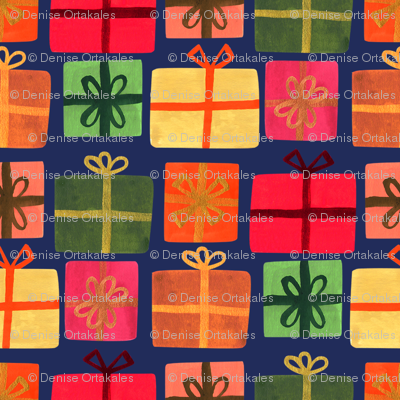 Wrapped Gifts-Royal