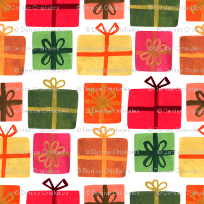 Wrapped Gifts - White
