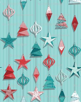 We make paper ornaments