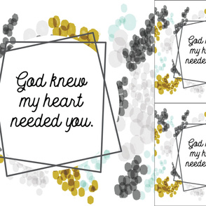 1 blanket + 2 loveys: god knew my heart needed you // gray champagne fizz