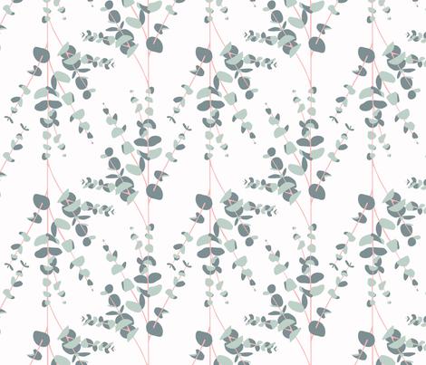 eucalyptus garland fabric by annaboo on Spoonflower - custom fabric