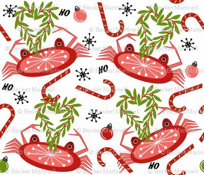 Christmas Eve Snow Crab sewindigo