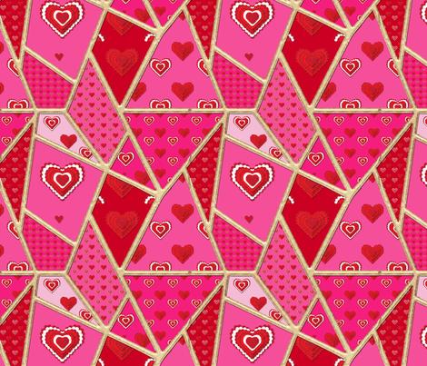 Crazy Ladie - No Yorkie Matching fabric by sherry-savannah on Spoonflower - custom fabric