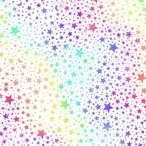 Spectrum Stars - white