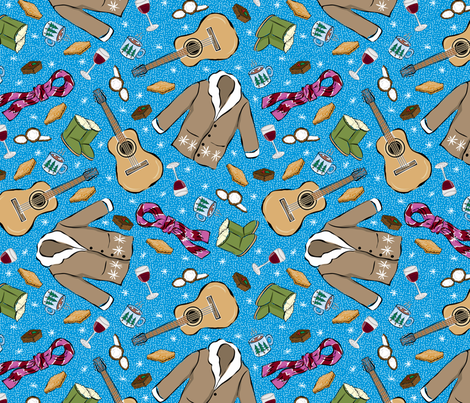 Holiday Hygge fabric by jewelraider on Spoonflower - custom fabric