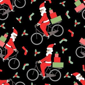 santa on bike pattern-21