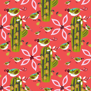 Partridge in a Pear Cactus