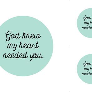 1 blanket + 2 loveys: god knew my heart needed you // aqua