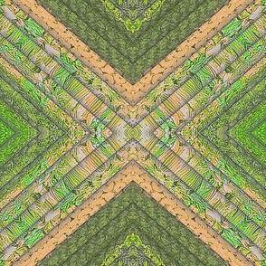 Fabric Simulation green beige tif