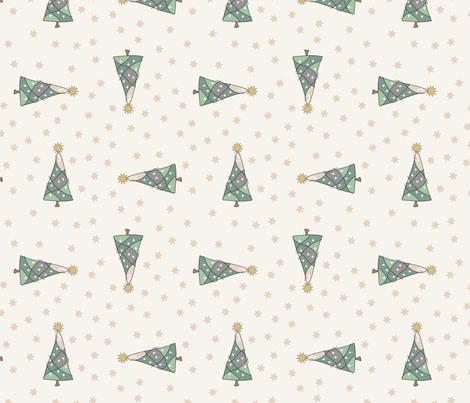 Decorating the tree fabric by pamelachi on Spoonflower - custom fabric
