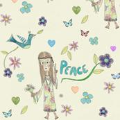 Peace Flower Child