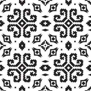 Latvian motifs