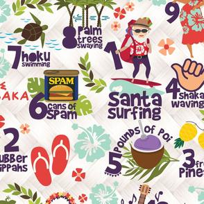 12 Days of Hawaiian Christmas - 1