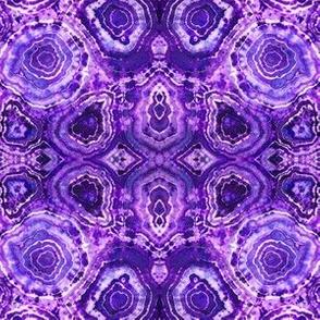 Rich Lavender Geodes