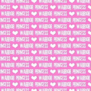 Warrior Princess - pink