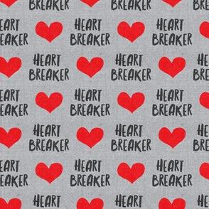 Heart Breaker - Grey