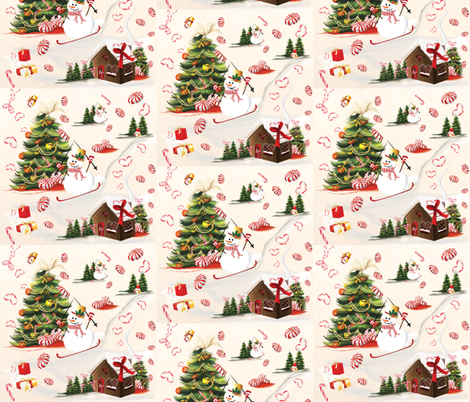 Christmas Time fabric by digital_doodlers on Spoonflower - custom fabric