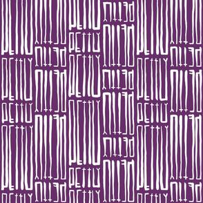Petty Purple Bidirectional