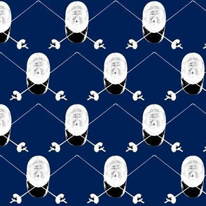 Epee+Mask Navy