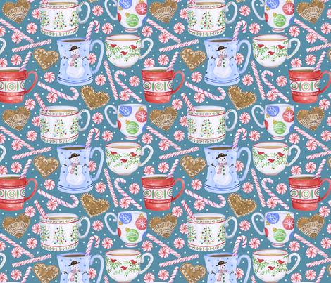 Holiday Treats fabric by twohanddesign on Spoonflower - custom fabric